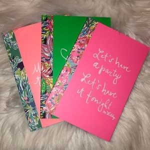 🌴🦩Lilly Pulitzer Notebook Set of 3 - NWT🦩🌴